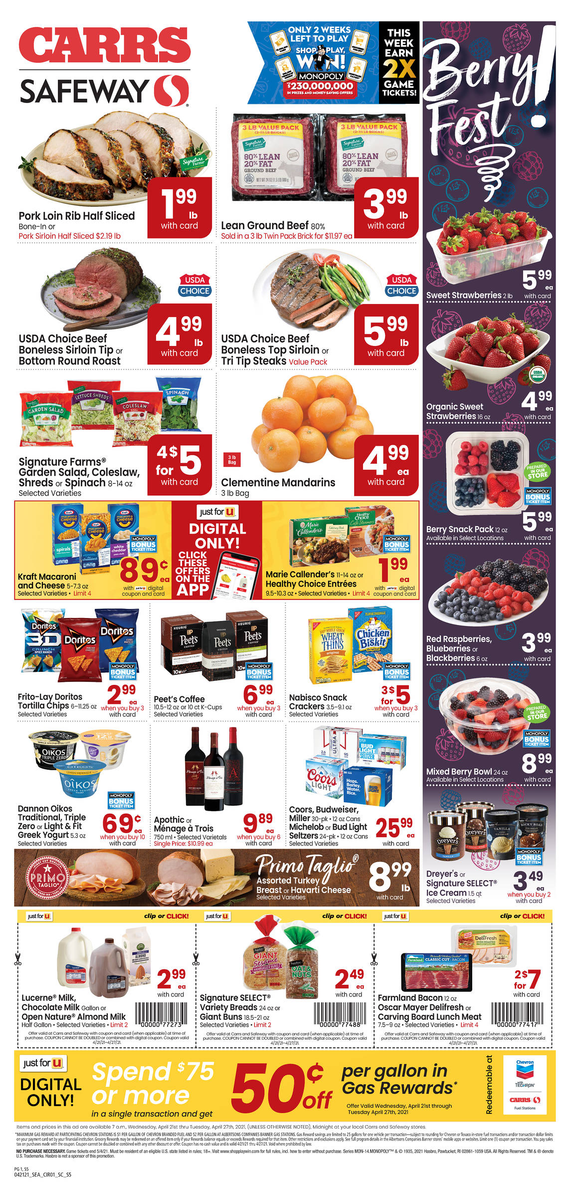 Carrs weekly ad