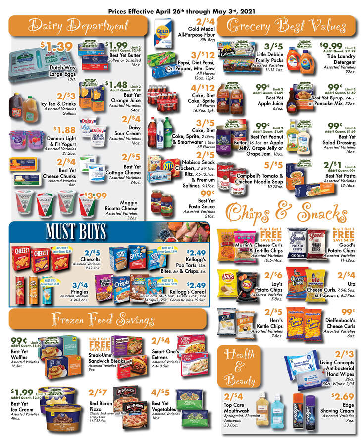 Dutchway weekly ad