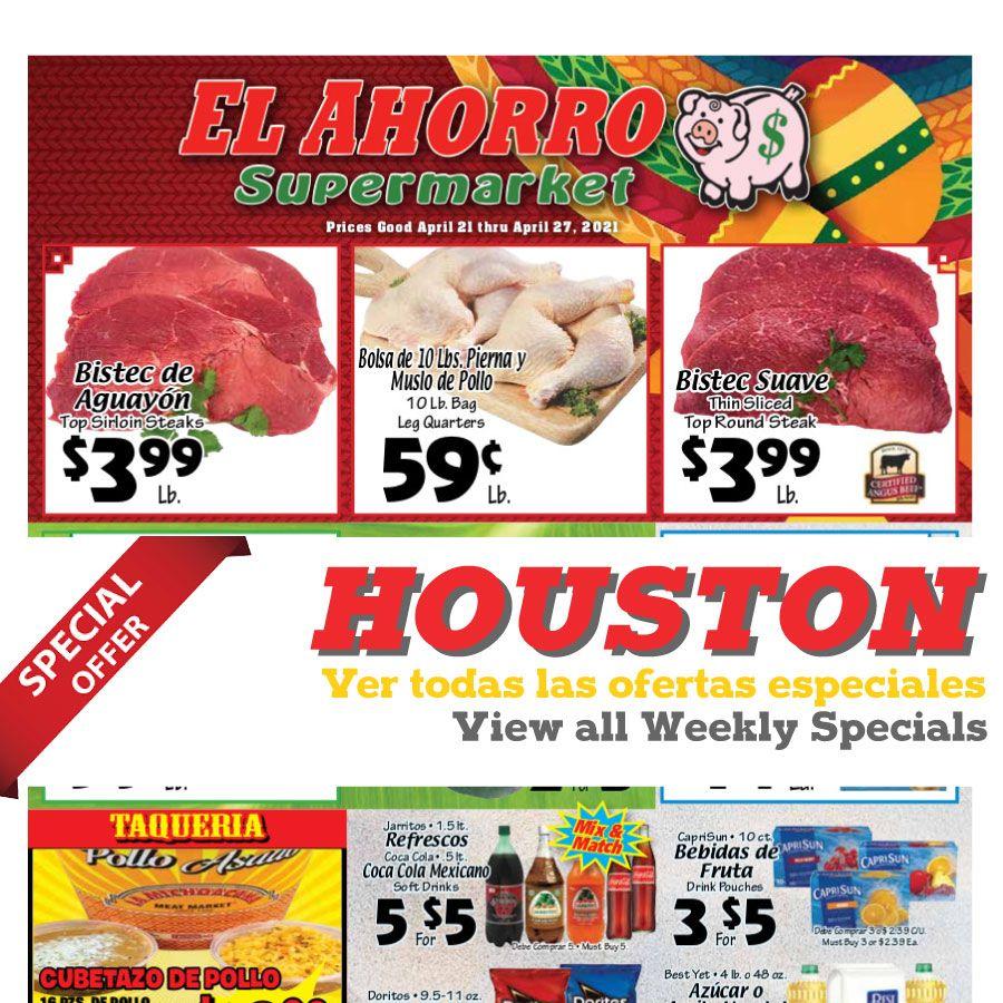 El Ahorro Supermarket weekly ad