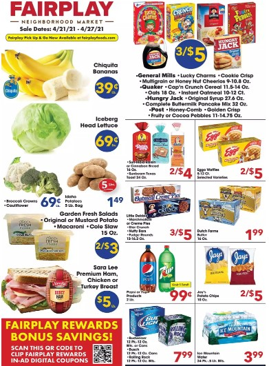 Fairplay Foods weekly ad