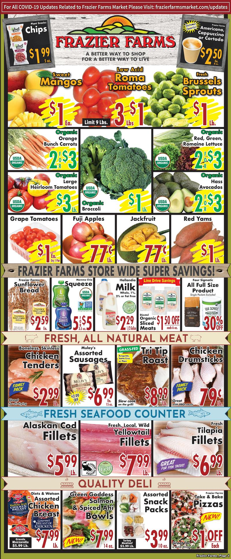 Frazier Farms weekly ad