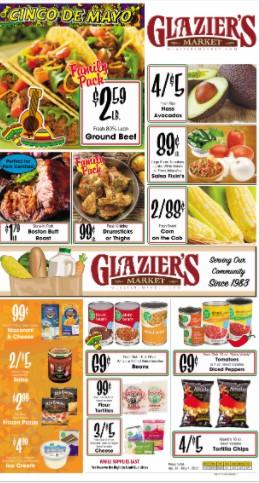 Glaziers weekly ad
