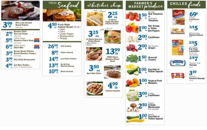Harvest Market weekly ad