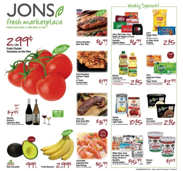 Jons weekly ad