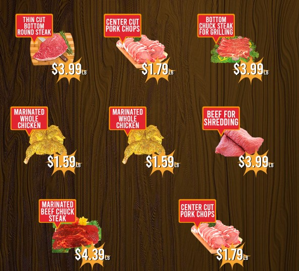 La Michoacana Meat Market weekly ad