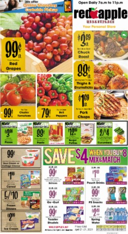 Red Apple weekly ad