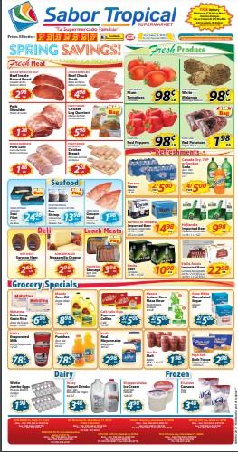 Sabor Tropical weekly ad