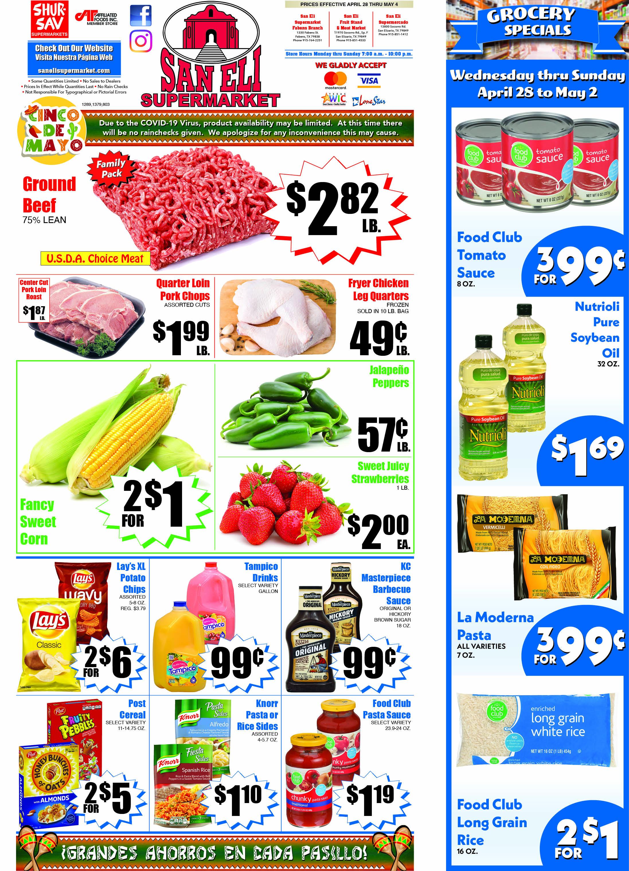 San Eli Supermarket weekly ad