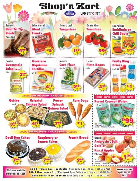 Shop N Kart weekly ad