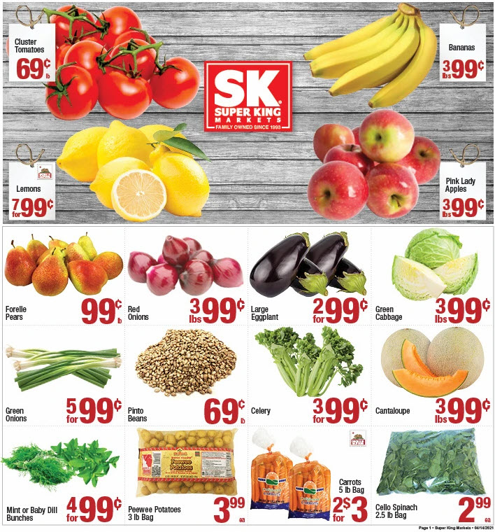 Super King weekly ad